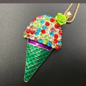 Ice Cream pendant fashion necklace jewelry